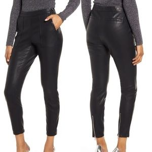 NWT BLANKNYC The Bond Black Faux Leather Pant